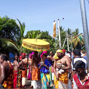 Chariot Festival is celebrated in Sri Lanka Sri Sindha Yathirai Pillayar Temple