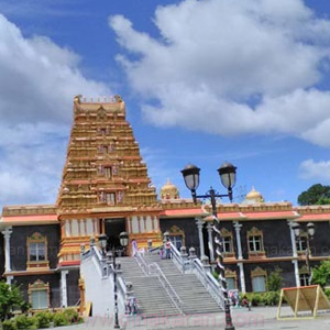 Guruvayoorappan Temple in the US