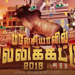 Jallikattu competition in Malaysia for the first time