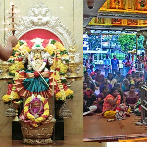 Purnima Puja at the Temple of Isun Sri Maha Mariamman in Singapore