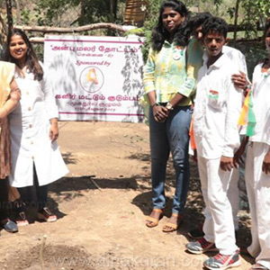 Women of International Tamil Nadu planted trees in Tamil Nadu