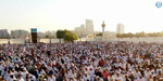 The festival is celebrated in the Gulf countries
