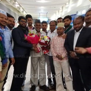 Former MP Kather Moideen Visits Dubai
