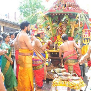 Sri Nagapuzhani Amman Temple Chariot festivel in Germany