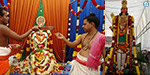 Panguni Uttar ceremony at the Sri Balasubramania temple in Singapore