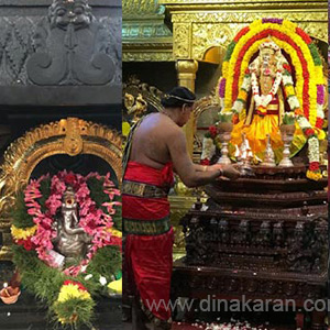 Annai monthly Chaturthi festival in Shenbaga Vinayaka temple in Singapore
