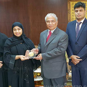 IMAN Cultural Center Gets Best Service Dubai Award