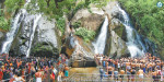 Vail will continue in Courtallam: cascades of water flow and decrease in the influx of tourists increase