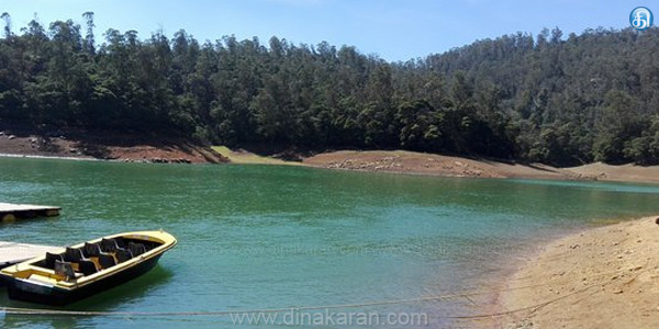 The difficulty is due to a lack of water in the dam kayaking paikkara