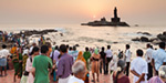 Tourists in North Western states accumulated in Kanyakumari