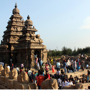 World Heritage Festival: Tourists flock to Mamallapuram today as there is no toll