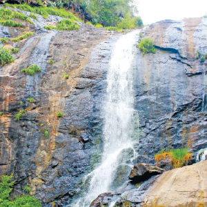 Two years later, the Kallitti Waterfalls pouring water is a delight for tourists