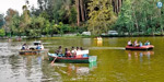 Climatic Super at Kodaikanal: Jolly boat ride in a lake filled with rain