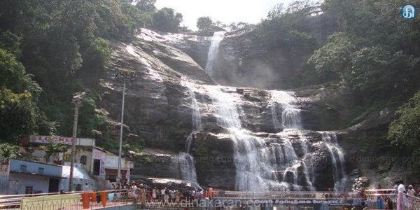 The lack of hot water in caralinri in Courtallam waterfalls
