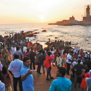 Onam, Bakrith Season Holiday Kanyakumari has attracted tourists