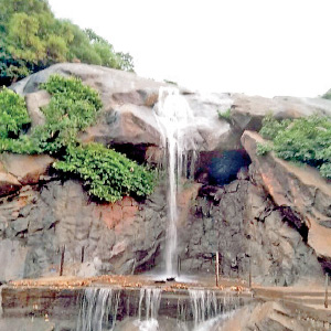 Waterfalls in Jalambambara Waterfall in Tirupattur
