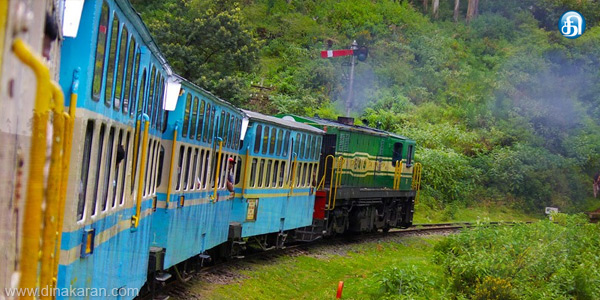 Mountain train additional coaches to run with the emphasis on tourists