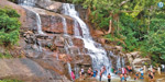 Increase in influx of water tourists at Chinasuruli Falls