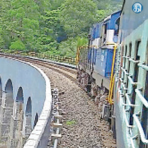 Lets Enjoy the Summer by Going in train from sengottai to Thenmalai