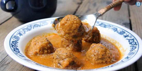 coconut kofta curry