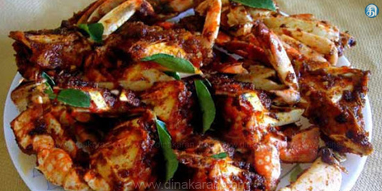 Chettinad Crab Curry