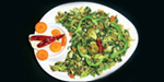 Spinach mix wedges salad