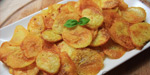 Baked chips potteto